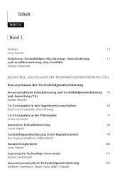 Page 1 Inhalt @ Vorwort Georg Simonis Einführung: Technikfolgen ...