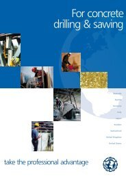 For concrete drilling & sawing - International Association of Concrete ...