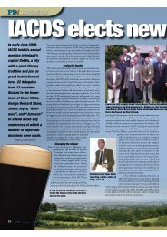 In early June 2009, IACDS held its annual meeting in Ireland's ...