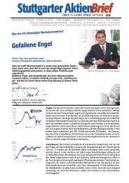 Gefallene Engel - Börse Aktuell