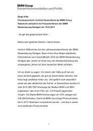 Statement Birgit Hiller (PDF, 38k) - BMW Niederlassung Stuttgart