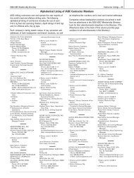 Alphabetical Listing of IADC Contractor Members