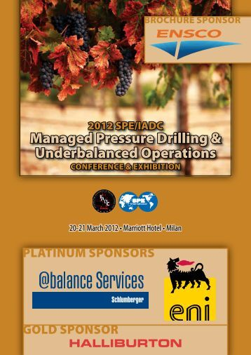 Managed Pressure Drilling & Underbalanced Operations - IADC