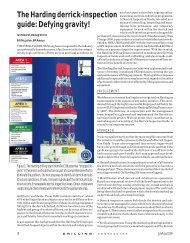 The Harding derrick-inspection guide: Defying gravity! - IADC