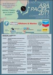 ASiA PACiFiC 2011 - IADC