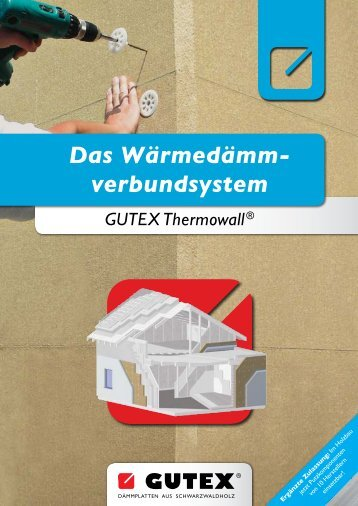 WDVS GUTEX Thermowall