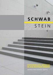 Prospekt Schwab-Stein GmbH, Horb-Dettingen