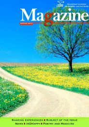 View the magazine - International Association for Disability and Oral ...