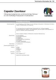 Technische Information Nr. 178 - Caparol