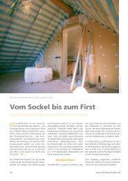 Vom Sockel bis zum First - Medienservice Architektur und Bauwesen