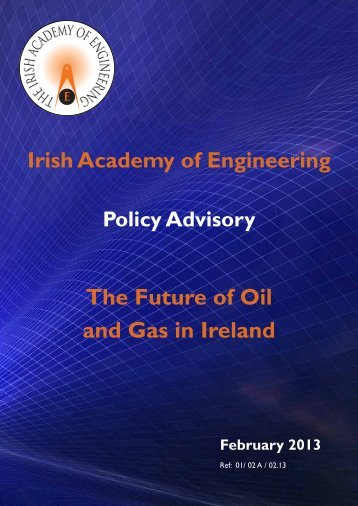 Policy Advisory: The Future of Oil and Gas in Ireland - Irish Academy ...
