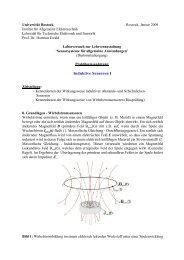 Praktikum2 - Institut für Allgemeine Elektrotechnik, Uni Rostock ...