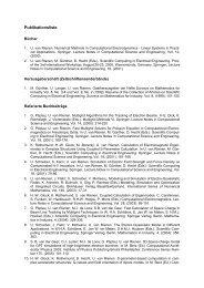 Publication - Institut für Allgemeine Elektrotechnik, Uni Rostock ...