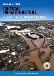 Adaptation for Climate Change - Irish Academy of Engineering