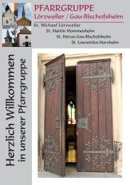 Herzlich Willkommen - beim Bistum Mainz