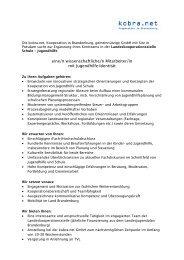 Ausschreibung LSJ 2013 - kobra.net