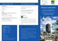 Informationen zum Lehrgang (pdf) - VBI