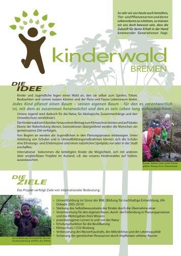 Kinderwald Bremen 2013 - Manfred Hermsen Stiftung