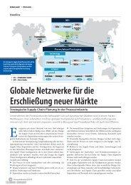 Globale Netzwerke für die Erschließung neuer Märkte - Camelot ...