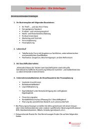 Der Businessplan - Die Unterlagen - neutral
