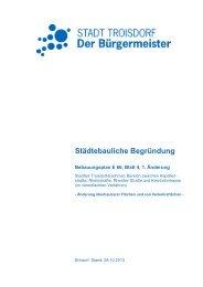 Begründung - Entwurf (265 KB) - Stadt Troisdorf