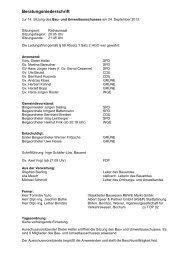 Protokoll des Bau- und Umweltausschusses vom 24.09.2013