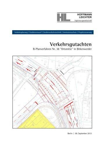 Verkehrsgutachten - Birkenwerder
