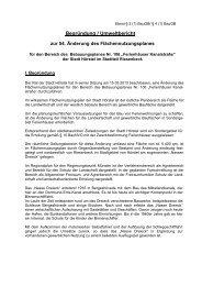 Begründung Umweltbericht - Stadt Hörstel
