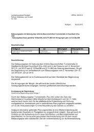 Der Bebauungsplan mit Satzung über örtliche ... - Stuttgart