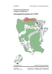 Kappelerhof Planungsbericht [PDF, 410 KB] - Stadt Baden