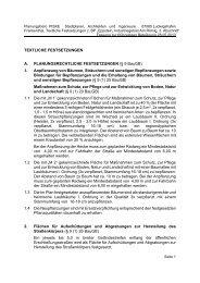 TEXTLICHE FESTSETZUNGEN A. PLANUNGSRECHTLICHE ...