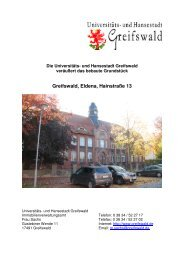 Gesamter Ausschreibungstext - Hansestadt Greifswald