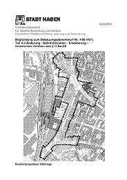 Begründung zum Bebauungsplan (ca. 233 KB) - Hagen
