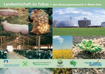 Landwirtschaft im Fokus – das Beratungsnetzwerk in Weser-Ems