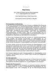 Entwurfsbegründung 6. Änderung B-Plan Nr. 12 ... - in Hamminkeln