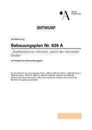 Bebauungsplan Nr. 636 A - Stadt Augsburg