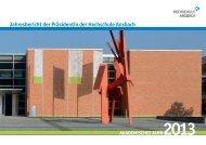 Jahresbericht 2013 - Hochschule Ansbach