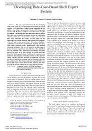 Developing Rule-Case-Based Shell Expert System - International ...
