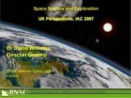 Williams presentation (PDF format) - IAF home page