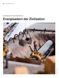 Energieadern der Zivilisation - Deutsches Museum