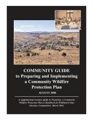 CWPP Report Design - International Association of Fire Chiefs