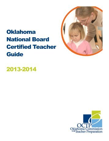 OK NBCT Guide - State of Oklahoma