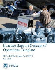 Evacuee Support Concept of Operations Template - International ...