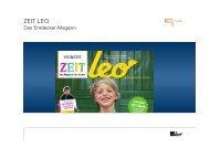 ZEIT LEO - Basispräsentation - IQ media marketing