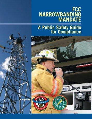 FCC NARROWBANDING MANDATE - IMSA