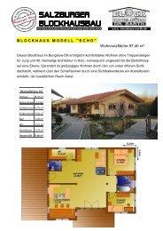 Gesamt-Wf ca. 208 m² - Blockhaus Barth