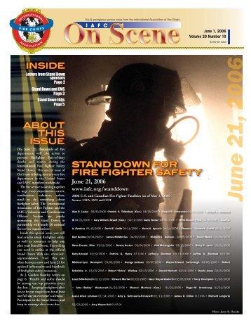 JUNE 1, 2006 V2.indd - International Association of Fire Chiefs