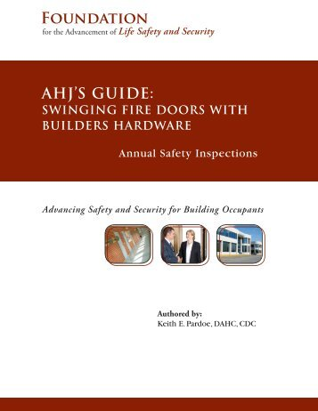 AHJ'S GUIDE: - International Association of Fire Chiefs