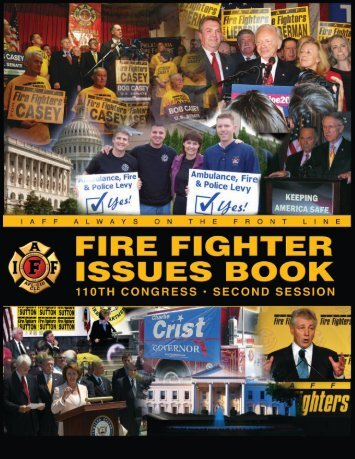 2008 Fire Fighter Issues Book - IAFF