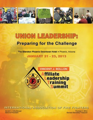 ALTS 2013 - IAFF - International Association of Fire Fighters